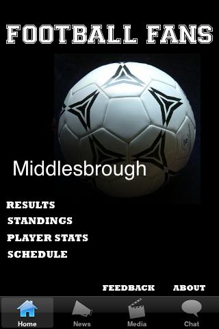 Football Fans - Middlesbrough screenshot #1