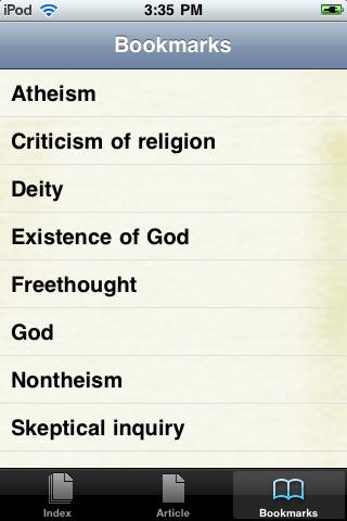 Atheism Study Guide screenshot #3