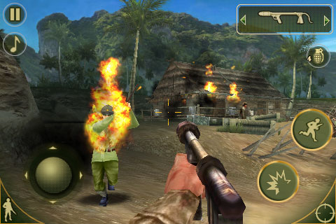 Brothers In Arms® 2: Global Front FREE screenshot #1