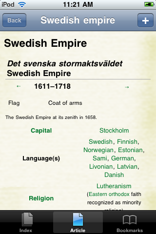 The Swedish Empire Study Guide screenshot #1