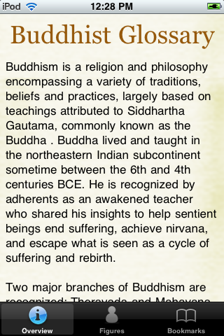 Buddhist Terminology Pocket Book screenshot #1