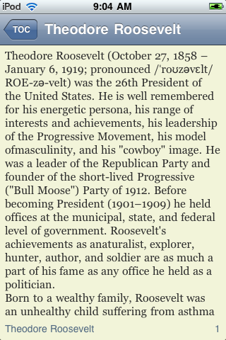 Theodore Roosevelt - Just the Facts screenshot #3