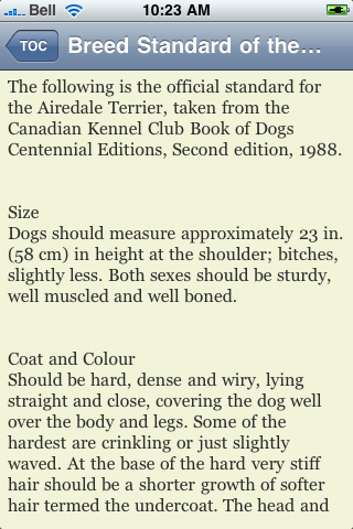 The Airedale Terrier Book screenshot #3