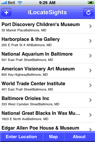 Baltimore, Maryland Sights screenshot #3