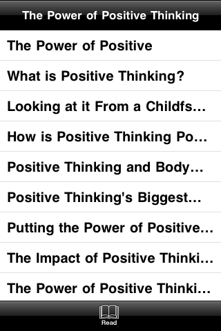 The Power of Positive Thinking screenshot #4