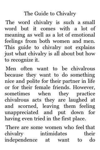 The Guide to Chivalry screenshot #3