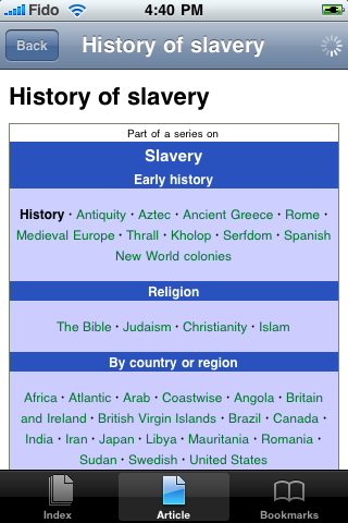 History of Slavery Study Guide screenshot #1
