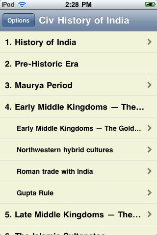 The History of India screenshot #3