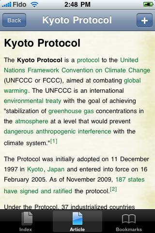 Kyoto Protocol Study Guide screenshot #1
