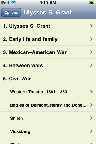 Ulysses S. Grant - Just the Facts screenshot #1