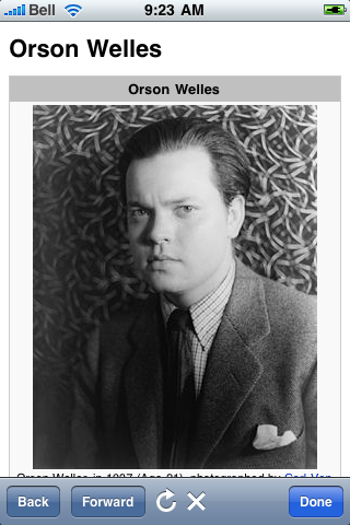Orson Welles Quotes screenshot #1