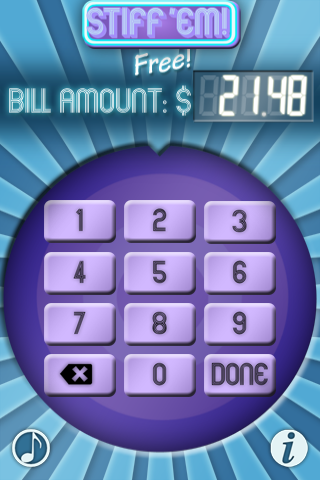 STIFF 'EM! Free - The Tip Calculating Game! screenshot #4