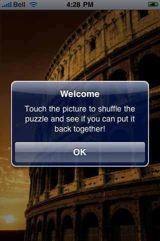 Roman Colosseum Slide Puzzle screenshot #2