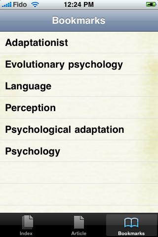 Evolutionary Psychology Study Guide screenshot #3