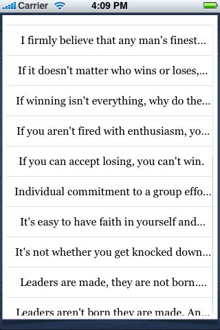 Vince Lombardi Quotes screenshot #3