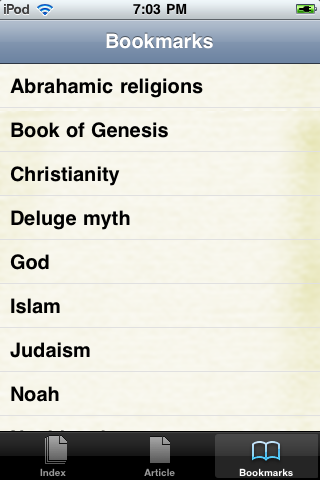 Noah's Ark Study Guide screenshot #3