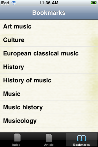 History of Music Study Guide screenshot #3