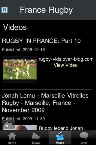 Rugby Fans - France screenshot #3