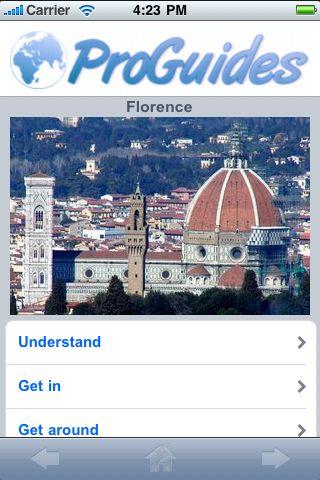 ProGuides - Florence screenshot #1