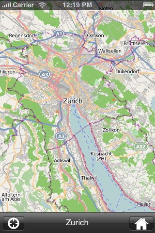 iMapsPro - Zurich screenshot #2