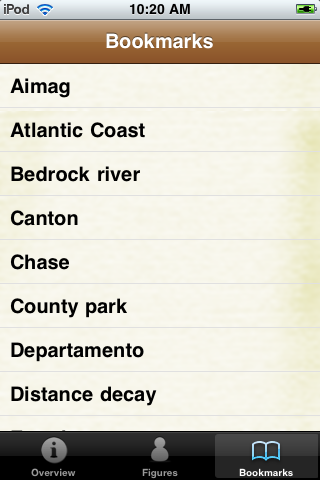 Geography Glossary Book screenshot #5