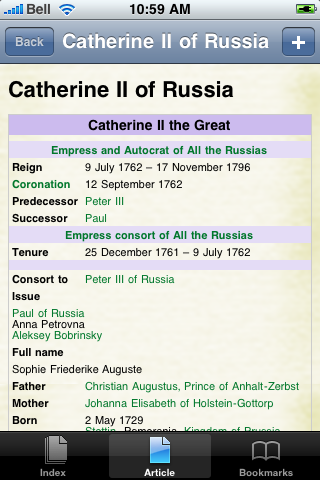 Catherine the Great Study Guide screenshot #1