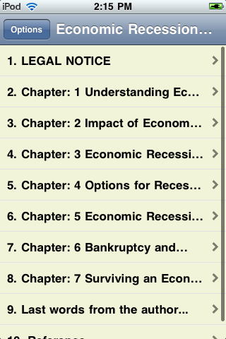 Economic Recession - An Overview screenshot #2