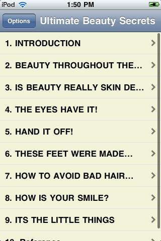 151 Ultimate Beauty Secrets screenshot #1