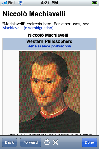 Niccolo Machiavelli Quotes screenshot #1