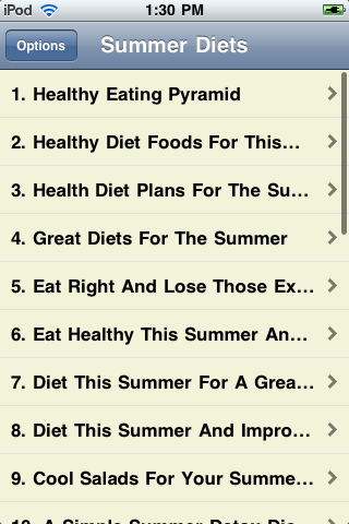 Summer Diets image #1
