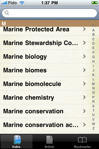 Marine Biology Study Guide screenshot #2