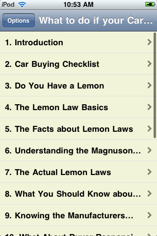What to do if your Car is a Lemon screenshot #2