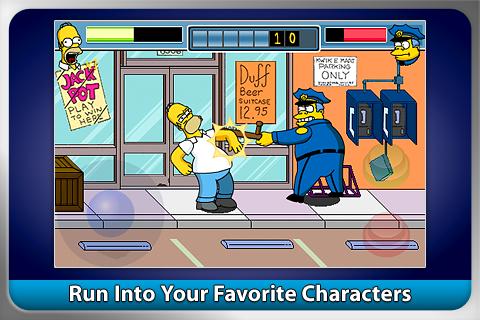 The Simpsons Arcade FREE screenshot 4