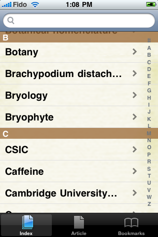 Botany Study Guide screenshot #2