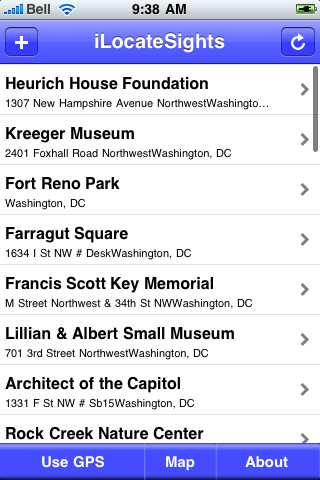 Washington DC Sights screenshot #2