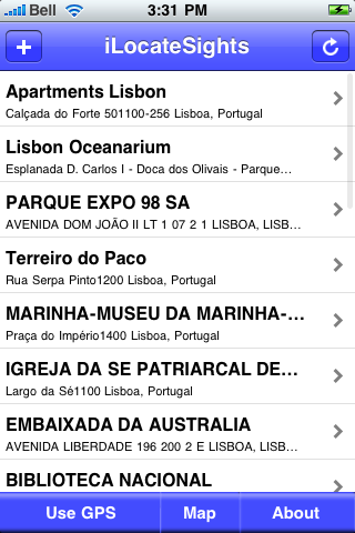 Lisbon Sights screenshot #2