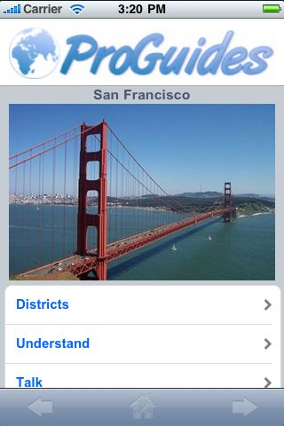ProGuides - San Francisco screenshot #1