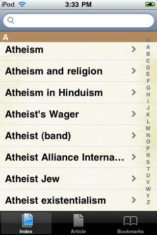 Atheism Study Guide screenshot #2