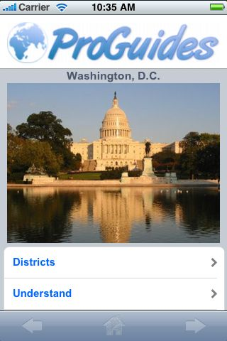 ProGuides - Washington DC screenshot #1