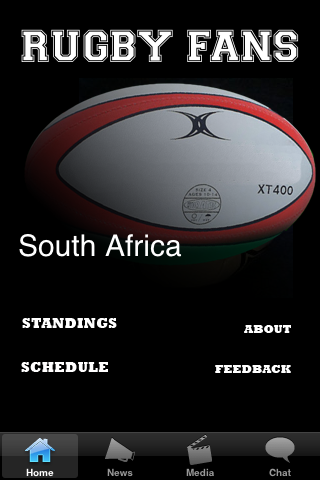 Rugby Fans - South Africa screenshot #1