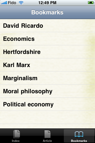 The Political Economy Study Guide screenshot #3