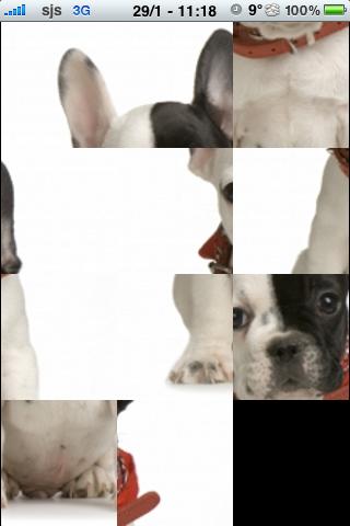 French Bulldog Slide Puzzle screenshot #2