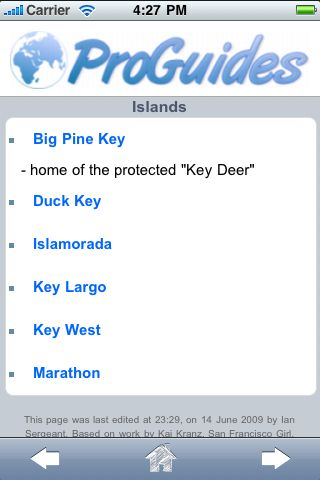 ProGuides - Florida Keys screenshot #3
