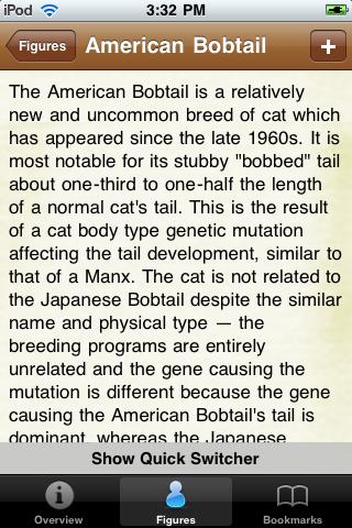 Cat Species Pocket Book screenshot #3