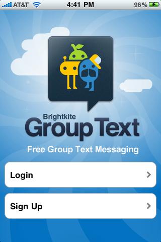 Group Text screenshot 1
