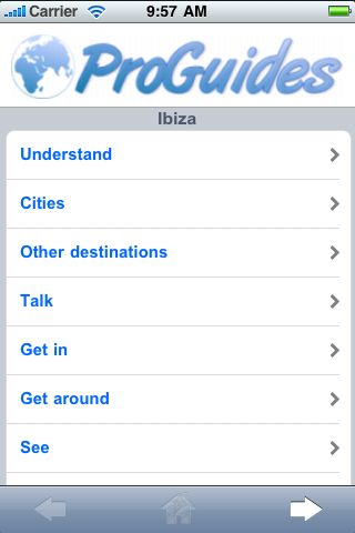 ProGuides - Ibiza screenshot #1