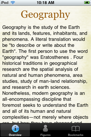 Geography Glossary Book screenshot #1