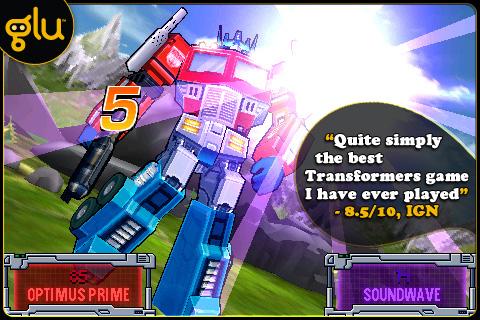 TRANSFORMERS G1: AWAKENING screenshot #1