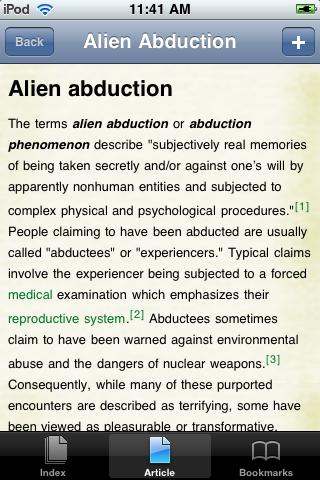 Alien Abduction Study Guide screenshot #1