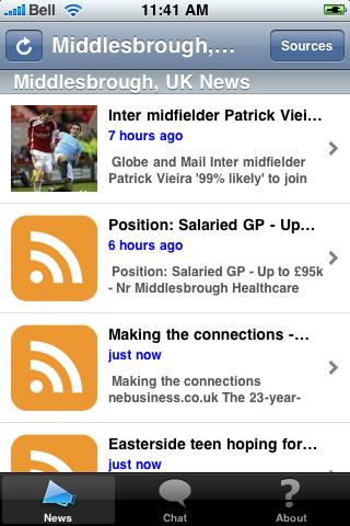 Middlesbrough, UK News screenshot #1